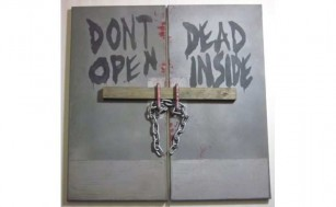 Don't Open Dead Inside Painting