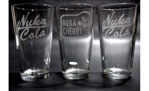 Nuka Cola Nuka Cherry Fallout Pint Glasses Fallout Inspired Gifts