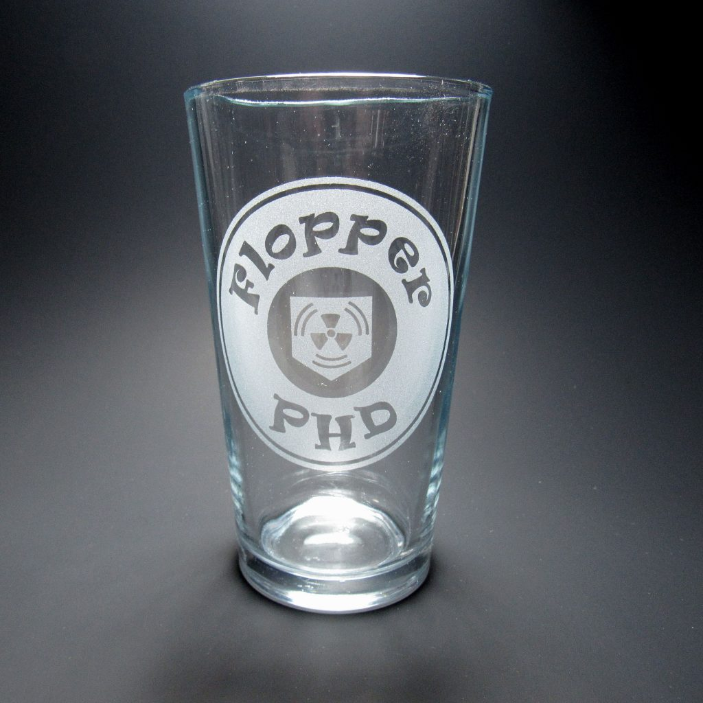 PhD Flopper COD Zombies Pint Glass Perk a Cola